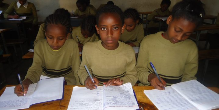 Les in de sloppenwijken van Ethiopië