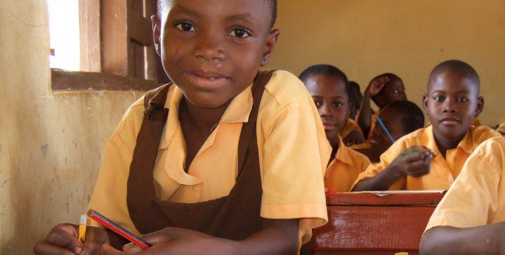 Scholen op het platteland van Ghana
