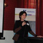 Martine presenteerde meerdere jaren onze donateursdag