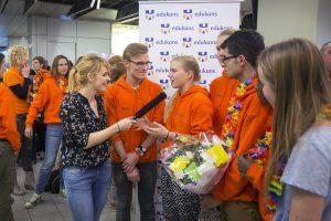 Edukans Ambassadeur Sofie van den Enk