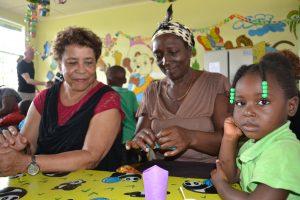 Noraly voor Edukans in Suriname