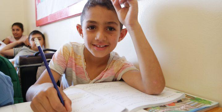 Onderwijs voor Syrische vluchtelingen