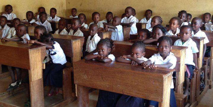 Meer kinderen bij de les in Congo