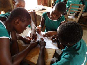 meisjes in de klas ghana
