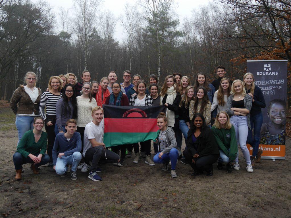 Going Global Malawi 2017, groepsfoto groep 1