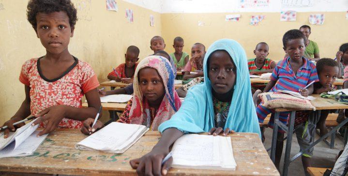 Onderwijs voor Eritrese vluchtelingen in Ethiopië