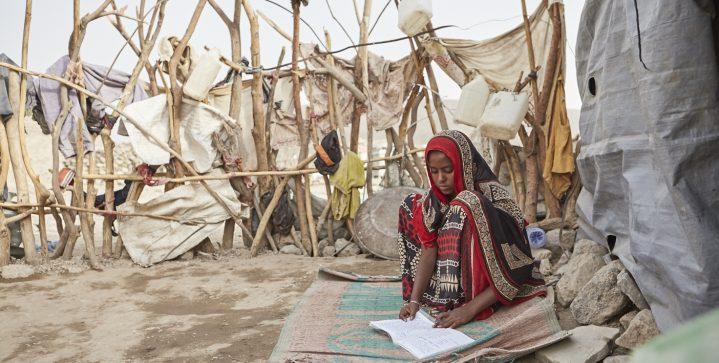 Campagne voor vluchtelingenkinderen in Ethiopië