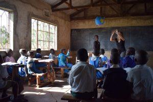 Klaslokaal in Kenia