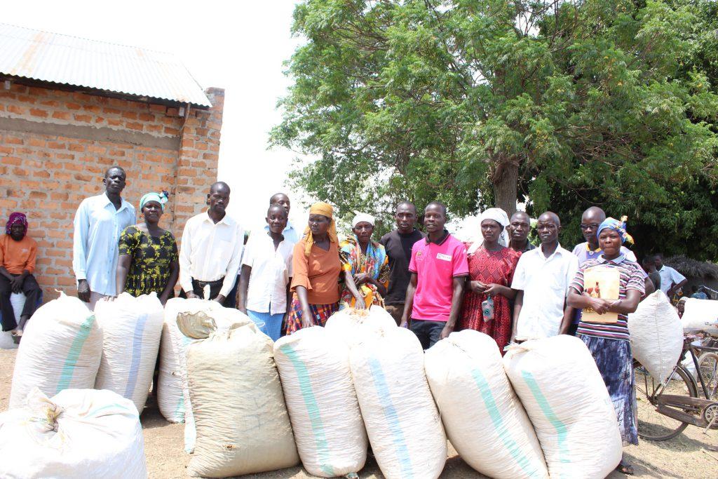 Oegandese boeren