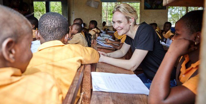 Bracha van Doesburgh in Ghana