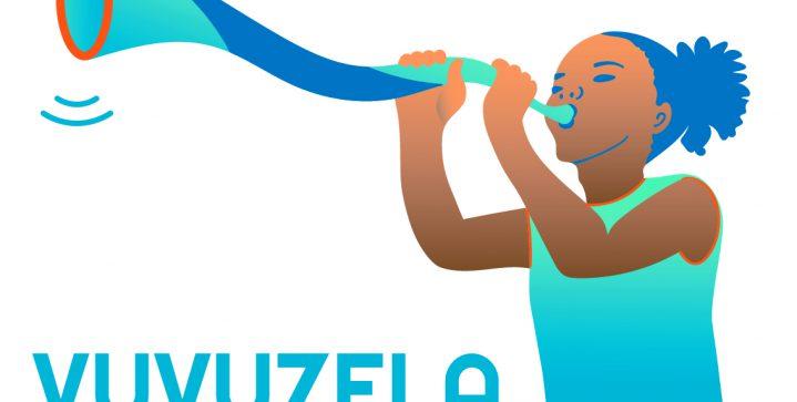 Vuvuzela shout out voor meisjes