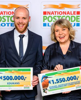 Cheque Edukans Goed Geld Gala