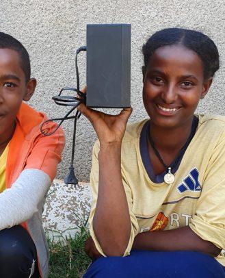 Zemen radioles Ethiopië