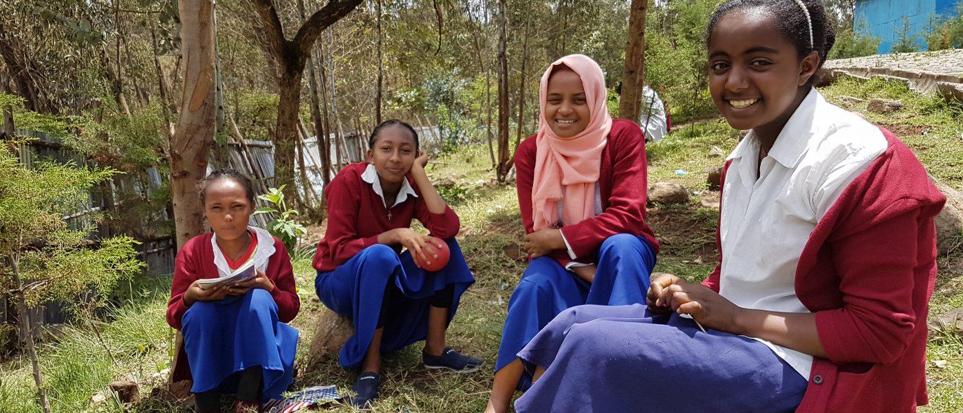 Ethiopische scholieren Edukans